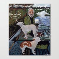 goodfellas Canvas Prints featuring Whaddya Want From Me? by SoTeeOh