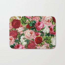 rose bushes Bath Mat