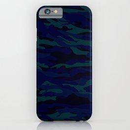 camuflaje 3 iPhone Case