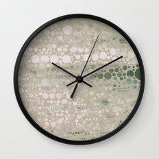 Sea Glass -- Abstract  Wall Clock