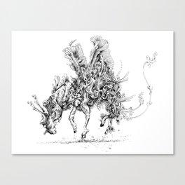 re-search Canvas Print