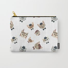 Cat People Pattern Carry-All Pouch