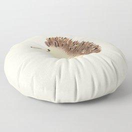 Happy Hedgehog Sketch Floor Pillow