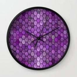 Glitter Tiles ১ Wall Clock