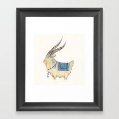 -Ü- Framed Art Print