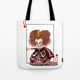 Funny Red Queen Tote Bag