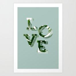 Love plants Art Print
