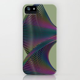 Tensegrity Spiral  iPhone Case