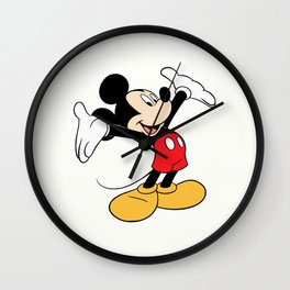 Cute Mickey Mouse Wall Clock