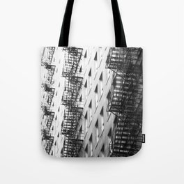 Chicago fire escapes Tote Bag