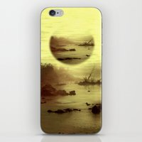 jazzberry iPhone & iPod Skins featuring Illusive visions float above my head... by Donuts
