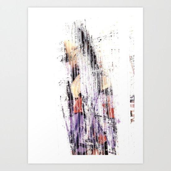 abstract8 Art Print