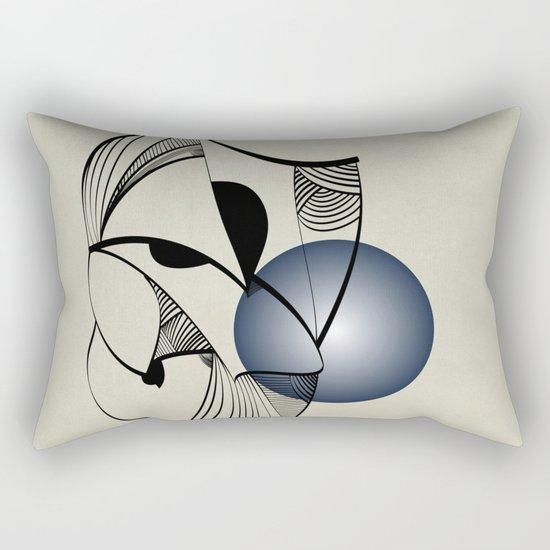 Abstract L1 Rectangular Pillow