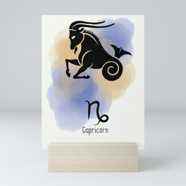 Capricorn  Mini Art Print