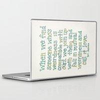 dr seuss Laptop & iPad Skins featuring Dr. Seuss by artworkbyemilie