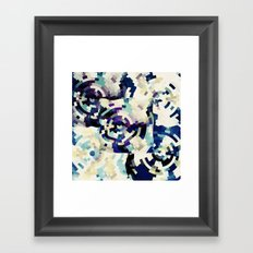 Melted Framed Art Print