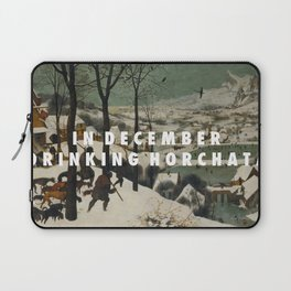 Horchata in the Snow Laptop Sleeve