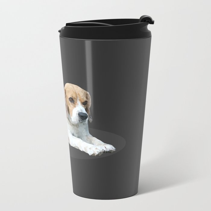 Beagle Dog #3 Metal Travel Mug