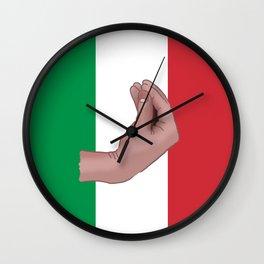 Italian Meme Wall Clock