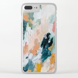Soul Study #1 Clear iPhone Case