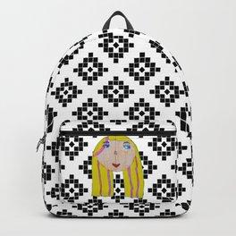 Blonde Girl Backpack