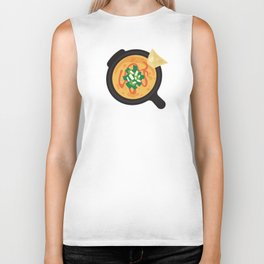 Q is for Queso Biker Tank
