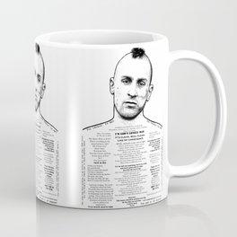 Travis Bickle - God's Lonely Man - Ink'd Series Coffee Mug