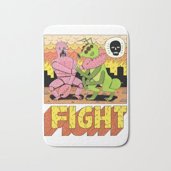 FIGHT! Bath Mat