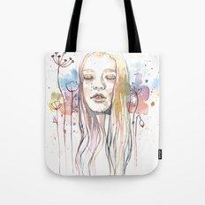 Meditation, watercolor  Tote Bag
