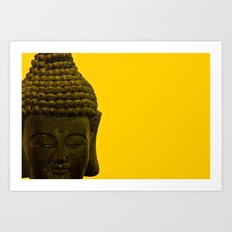 the buddha Art Print