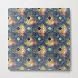 Bright ethnic pattern. Metal Print