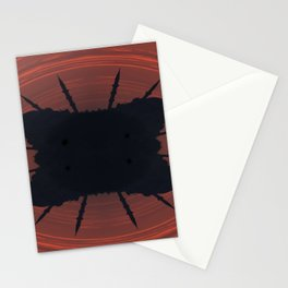 Abstract mosque silhouette Stationery Cards