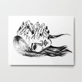headscape Metal Print
