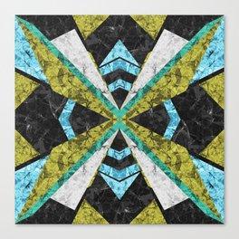 Marble Geometric Background G442 Canvas Print