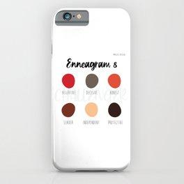 Enneagram 8 iPhone Case