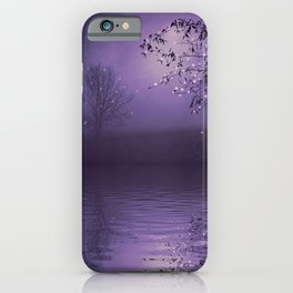 SONG OF THE NIGHTBIRD - LAVENDER iPhone Case