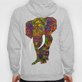 Elephant Kaleidoscope - Watercolor Hoody