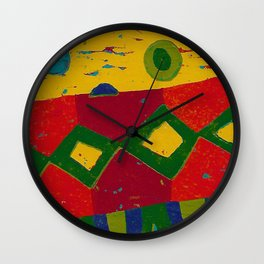 Reduction in colour Wall Clock