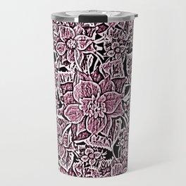 Wildflowers (Blushing Magenta) Travel Mug