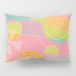 Abstract Pattern - Candyland Pillow Sham
