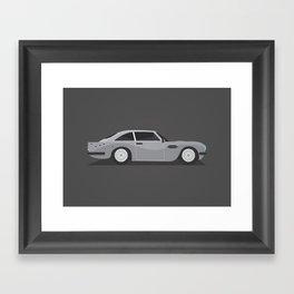 James Bond - DB5 Framed Art Print
