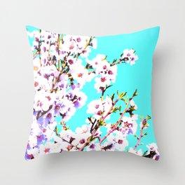 Sakura XIV Throw Pillow