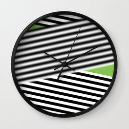 moving ribbon blur Wall Clock