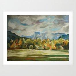 #31-Montana Mountains, Near Kalispel Art Print