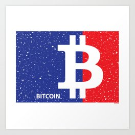 Major League Bitcoin Art Print