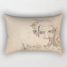 A Life Lived Much Too Fast Rectangular Pillow