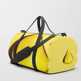 GOLDEN RAIN DROPS ART Duffle Bag