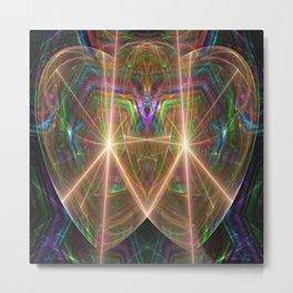 2 Hearts Metal Print