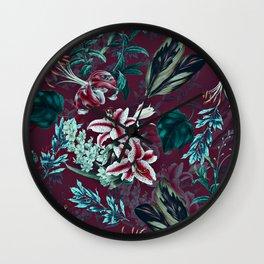 Botanical Pattern-13 Wall Clock