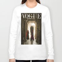 vogue Long Sleeve T-shirts featuring VOGUE INDIA by ArpanDholi